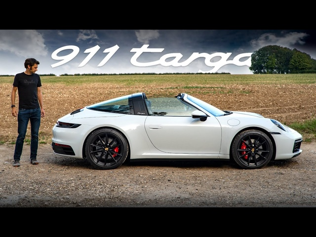 NEW Porsche 911 Targa 4S (992): Road Review | Carfection 4K