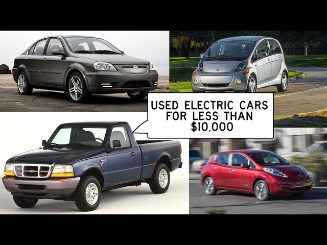 Electric-Car Bargains Under $10,000: Window Shop with Car and Driver
