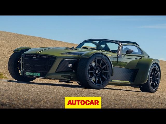 Donkervoort D8 GTO-JD70 review | Audi-engined Dutch sports car that can pull 2G