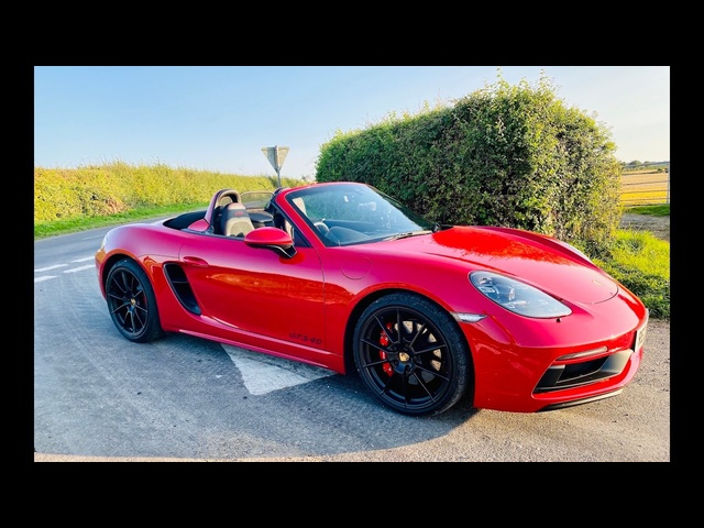 Porsche 718 Boxster GTS 4.0 review. Is this the greatest Boxster ever?