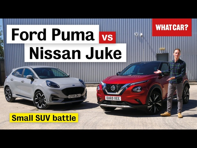 2020 Ford Puma vs Nissan Juke review – what's the best small SUV? | What Car?