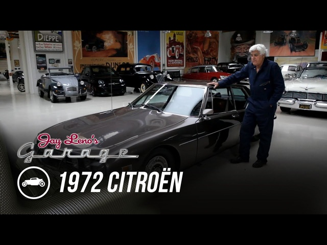 The Futuristic 1972 Citroën SM - Jay Leno's Garage