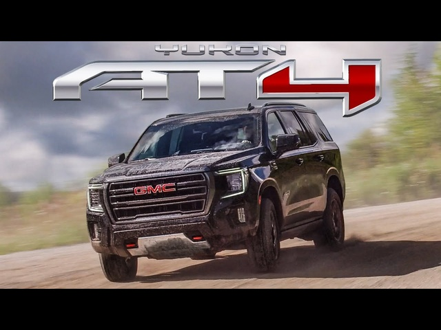The ALL NEW 2021 GMC Yukon AT4 Review