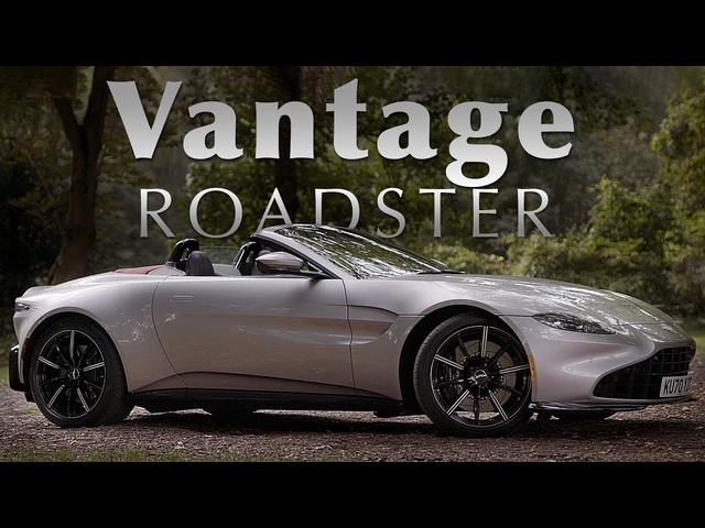 NEW Aston Martin Vantage Roadster: Road Review - INCREDIBLE Engine Sound | Carfection 4K