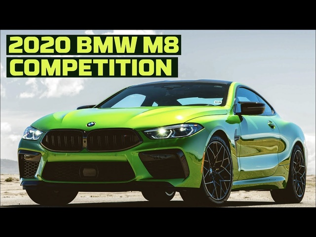 2020 BMW M8 Competition on the Track! | Tire Rack's Hot Lap | MotorTrend
