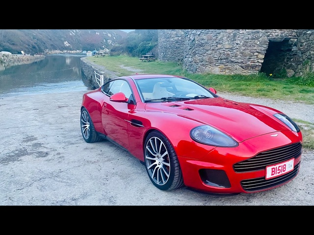Aston Martin Callum Vanquish 25 review plus guide to the best roads in S.Wales