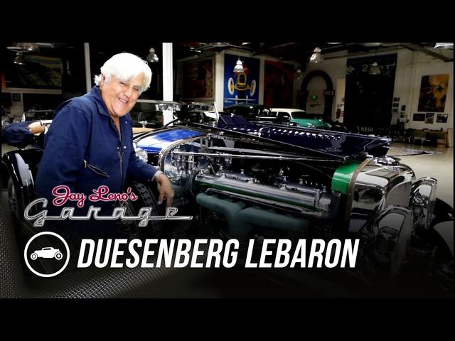 1930 Duesenberg LeBaron Barrelside -Jay Leno's Garage