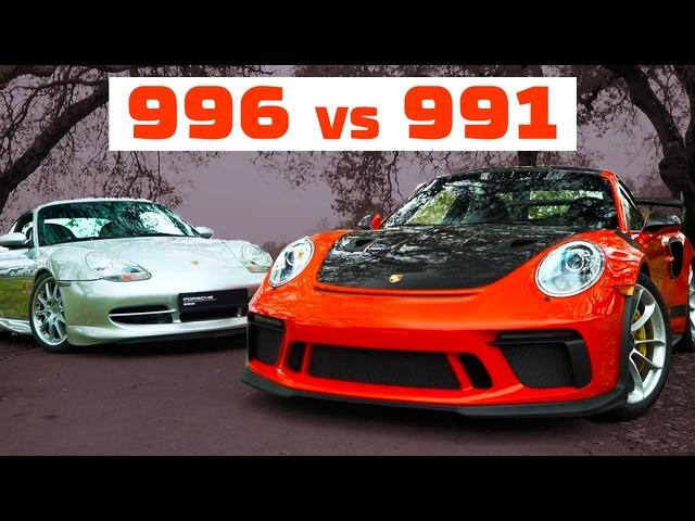 What's the Ultimate GT3? <em>Porsche</em> 996 vs <em>Porsche</em> 991 | MotorTrend