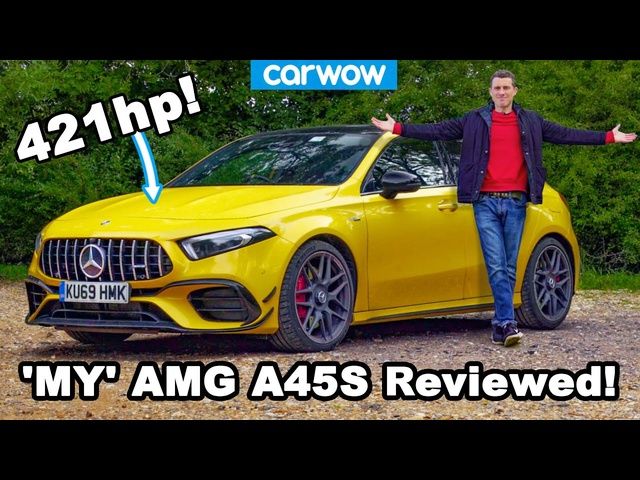 See what my girlfriend and Ithink of my new daily driver... The AMG A45 S!