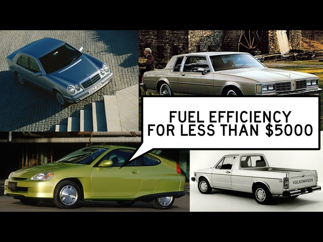 Fuel-Efficient Cars Under $5000: Window Shop with Car and Driver