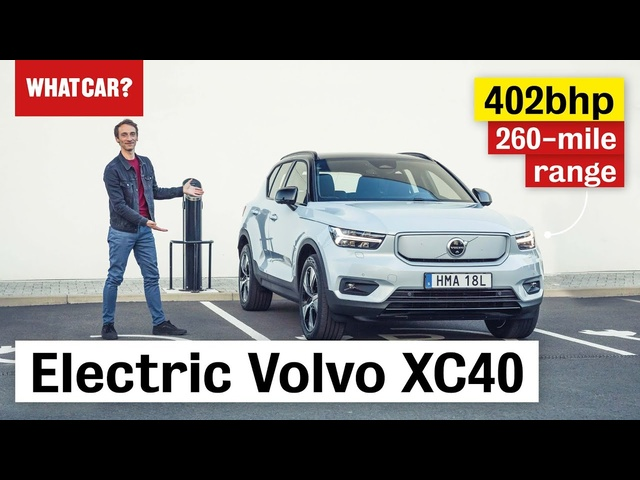 2021 Volvo XC40 Recharge P8 – electric SUV review | What Car?