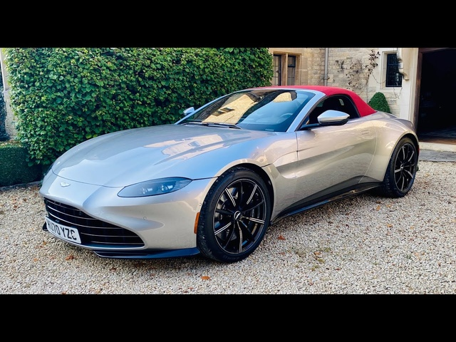 2020 Aston Martin Vantage Roadster review. It's good until you get to the price..