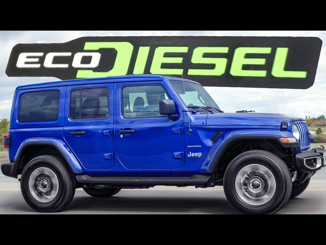 The 2020 Jeep Wrangler EcoDiesel is EXPENSIVE but Worth It