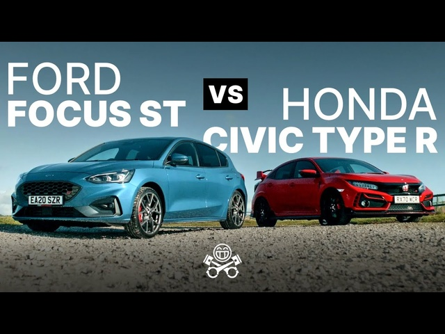 2021 <em>Honda</em> Civic Type R vs. Ford Focus ST | PistonHeads