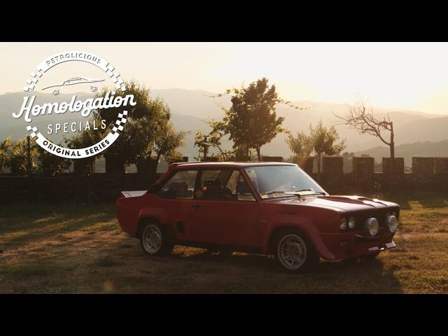 1976 Fiat-Abarth 131 Rally: An Italian Rally Legend in Tuscany