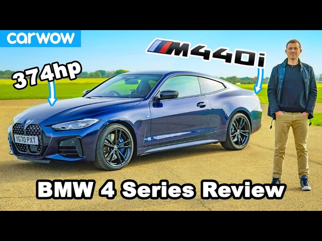 <em>BMW</em> 4 Series M440i review: see how quick it is to 60mph!