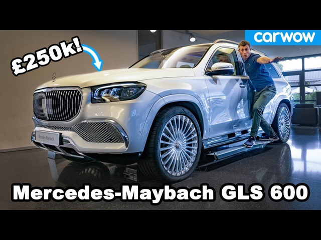 Mercedes-Maybach GLS 600 -see why it's the German Rolls-Royce Cullinan!