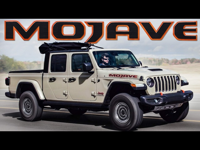 The First Desert Rated Jeep -2020 Jeep Gladiator Mojave Review