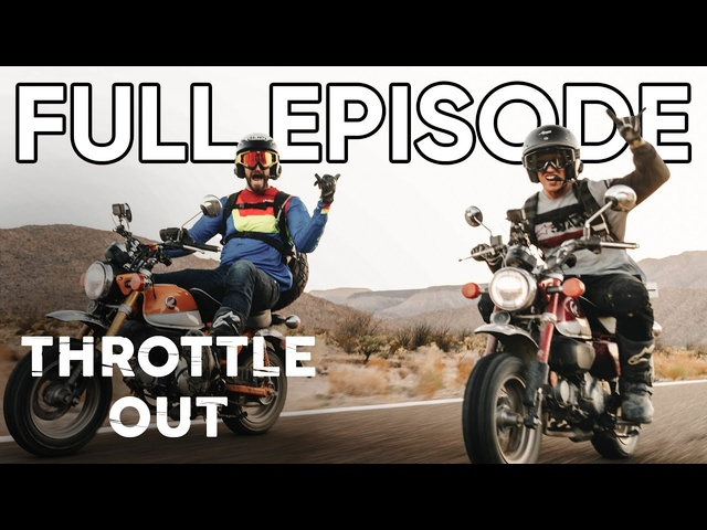 1,000 Mile Ride in Baja on <em>Honda</em> Monkeys | Throttle Out FULL EPISODE 1 | MotorTrend