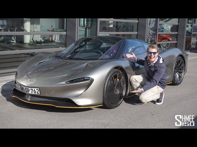 THIS is the McLaren Speedtail! MY FIRST DRIVE