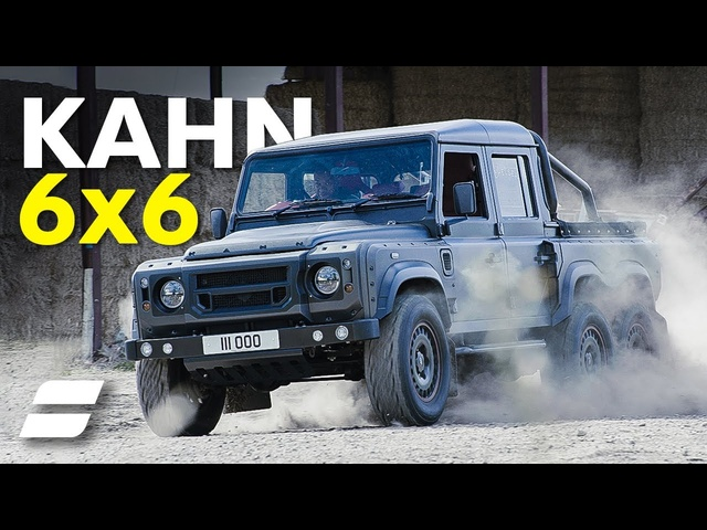 Custom 6x6 Defender Review: Kahn Flying Huntsman | 4K