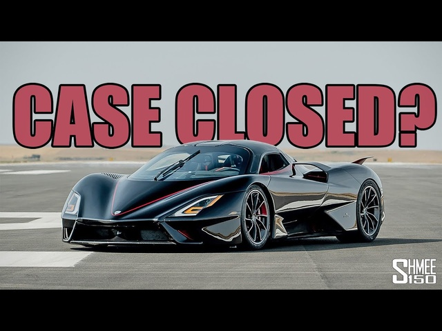 The Controversy of the 331mph SSC Tuatara World Record - Case Closed?