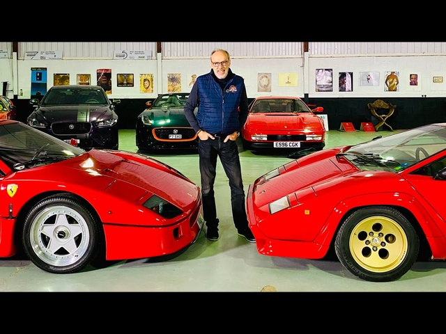 <em>Ferrari</em> F40 or Lamborghini Countach? Talking car design with legendary designer, Frank Stephenson