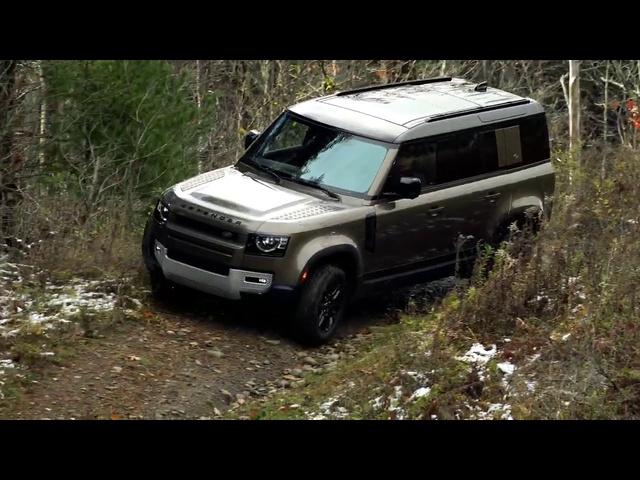 2020 Land Rover Defender   AModern Interpretation of an Icon