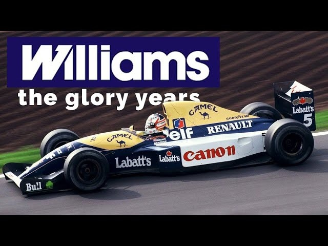 The Greatest F1 Cars Ever -All In One AMAZING Place: Williams Heritage | Carfection 4K