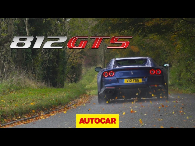 New Ferrari 812 GTS review | Is 2020 Superfast convertible super and fast? | Autocar