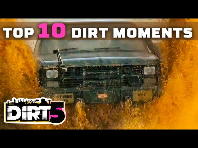 MotorTrend's Top 10 Dirtiest Moments, Brought to You By DIRT 5
