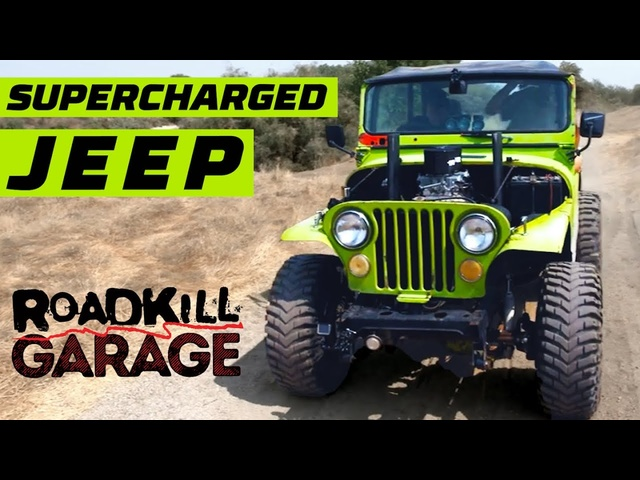 Supercharged Jeep CJ-5! | Roadkill Garage | MotorTrend