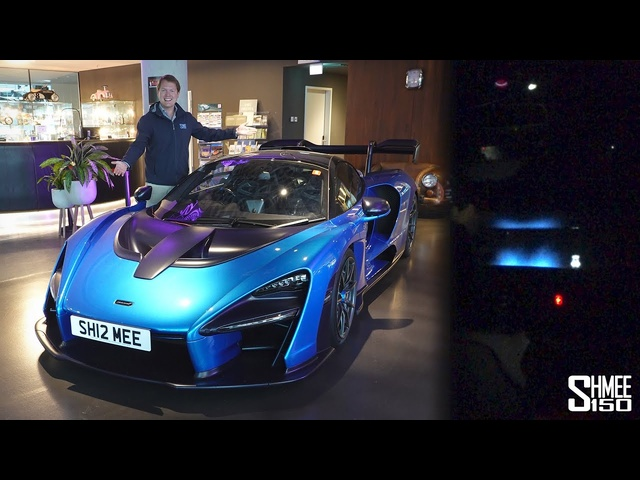 McLaren Senna FLAMES at 200mph!