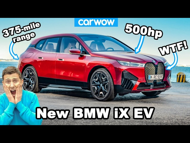 New BMW iX EV - see why it's an UGLY <em>Tesla</em> Model X beater!