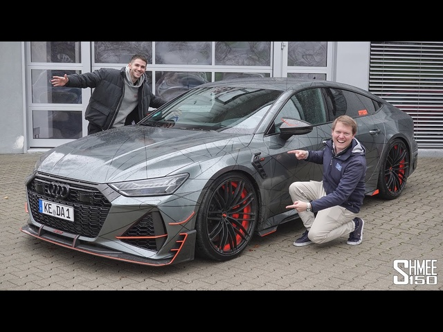 300km/h in Daniel Abt's 740hp RS7-R! MONSTROUS Daily Driver