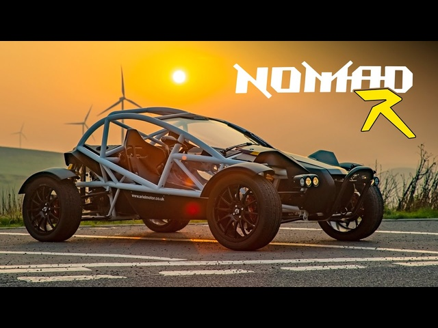 Ariel Nomad R: Road Review | Carfection 4K