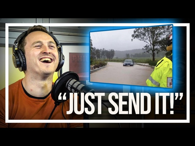 """Why You Never """"Just Send It"""" Through Flood Water 