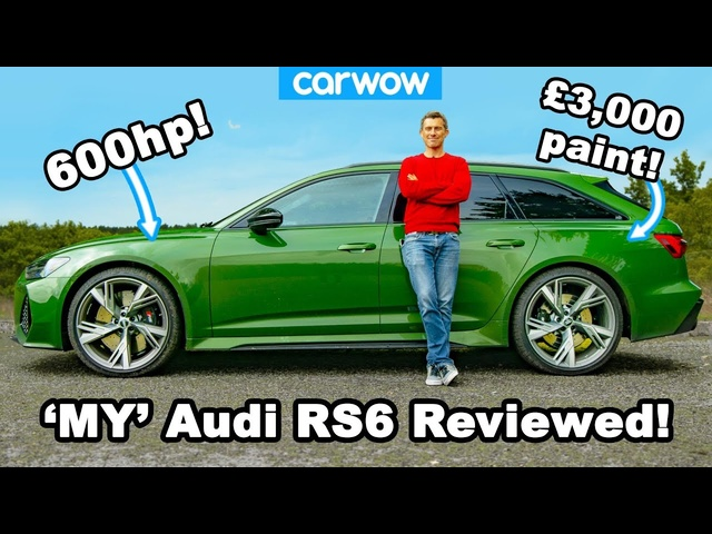 My new Audi RS6 daily driver - but have I made a mistake with the spec???