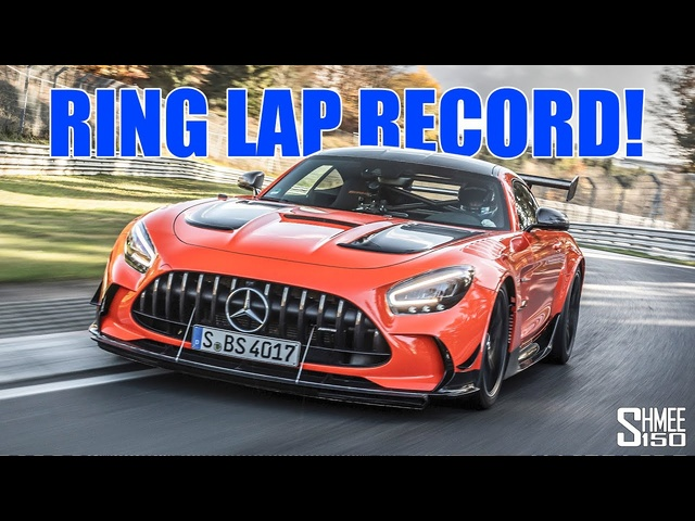 NEW KING OF THE RING! Nurburgring Lap Record for the AMG GT Black Series
