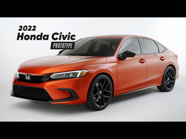 UNVEILED: 2022 Honda Civic Prototype | MotorTrend