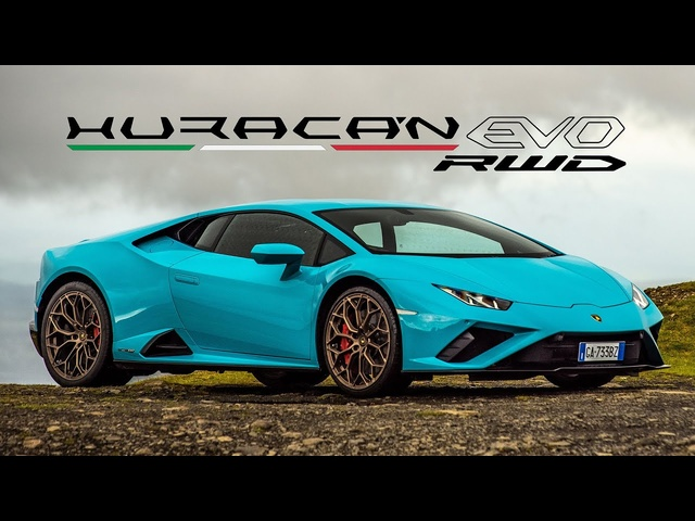 NEW Lamborghini Huracán EVO RWD: Road Review | Carfection 4K