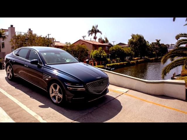 Shutter Speed: Genesis G80 – Santa Monica, CA | MotorTrend