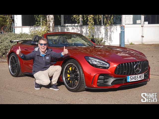 IT'S HERE! Collecting My AMG GT R Roadster