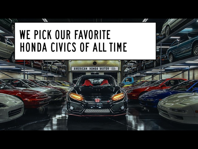 The Best <em>Honda</em> Civic of All Time: Window Shop with Car and Driver