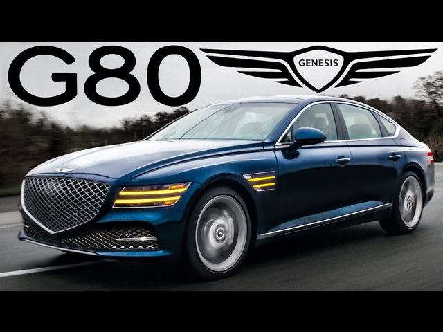 Twin Turbo Luxury - 2021 Genesis G80 Review