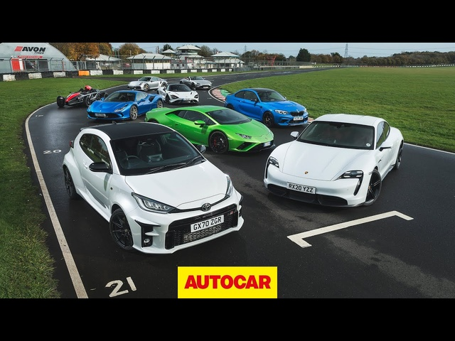 All of 2020's Best Sports Cars Reviewed | Autocar Best Driver's Car Shootout