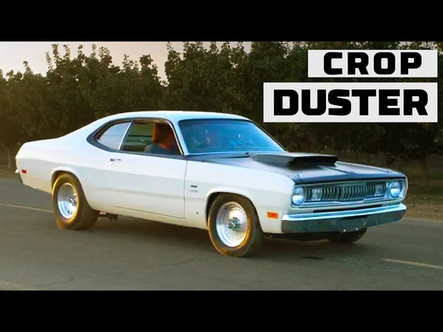 "Legendary '70 Plymouth Duster ""Crop Duster"" Rebuilt! 