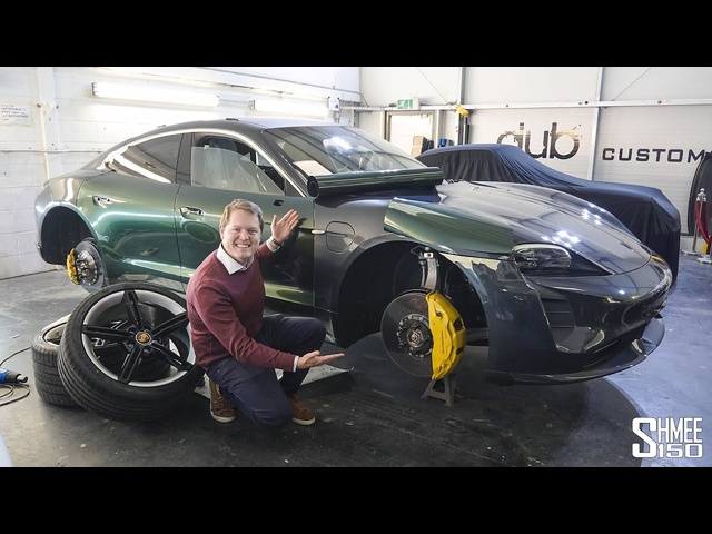 My Porsche Taycan Turbo S is Being TRANSFORMED!
