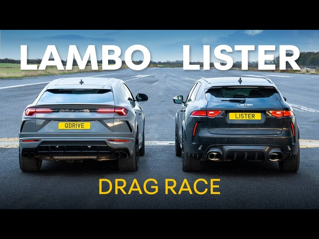 Lamborghini Urus vs 666hp Lister Stealth: Fastest SUV Drag Race