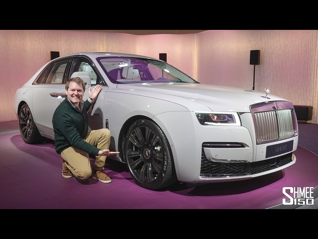 THIS is the New 2020 Rolls-Royce Ghost! | FIRST DRIVE